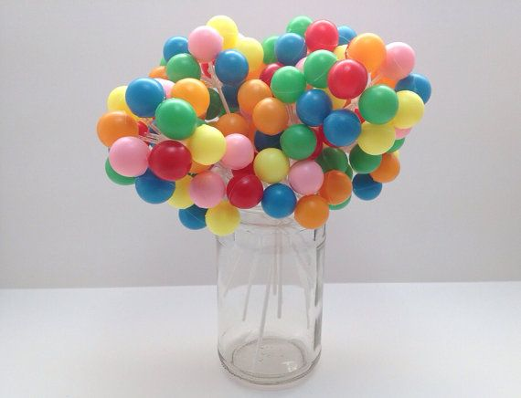 Pin Balloon Cluster Cake Decoration By Bonfortune On Etsy ...