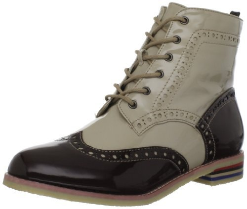 Wanted Shoes Women's Kiley Ankle Boot. Taking the mens/womens wear to