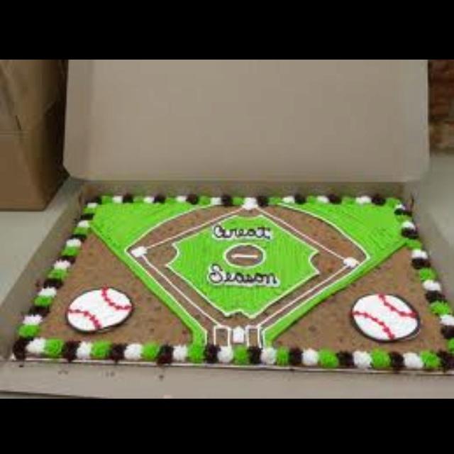 35th Birthday Cake Ideas For A Baseball Mom 12976 More Bas