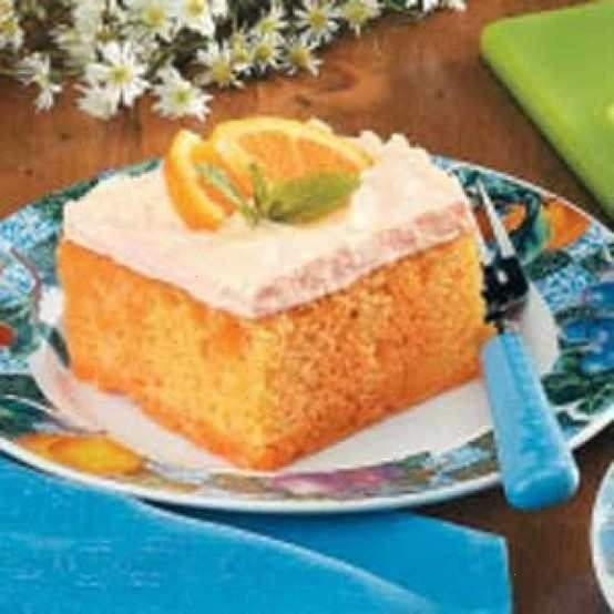 Orange creamsicle cake | foods | Pinterest