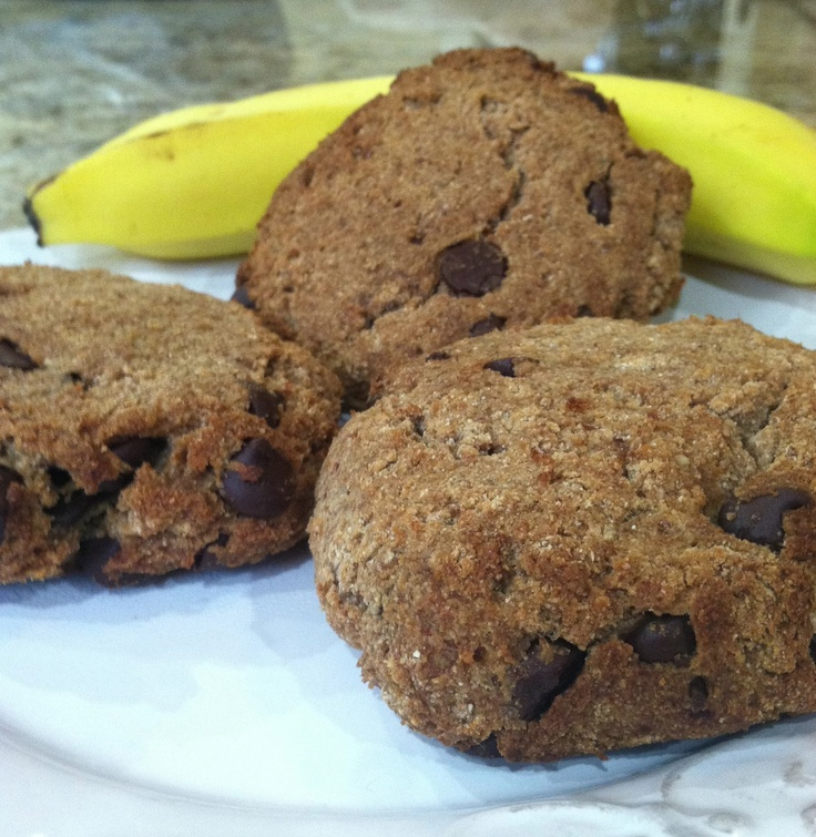 Banana Walnut Chocolate Chip Cookies | Dr. Fuhrman | Pinterest