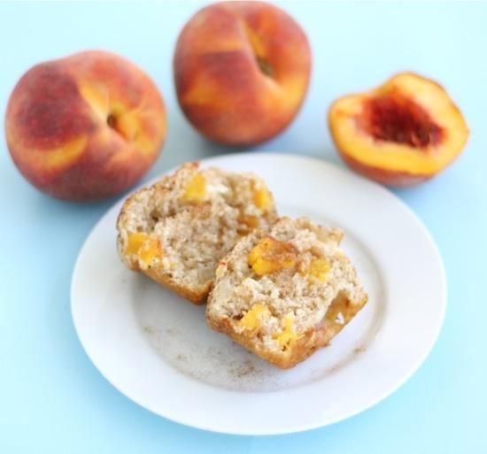 Peaches 'n Cream Muffins | Bread box | Pinterest