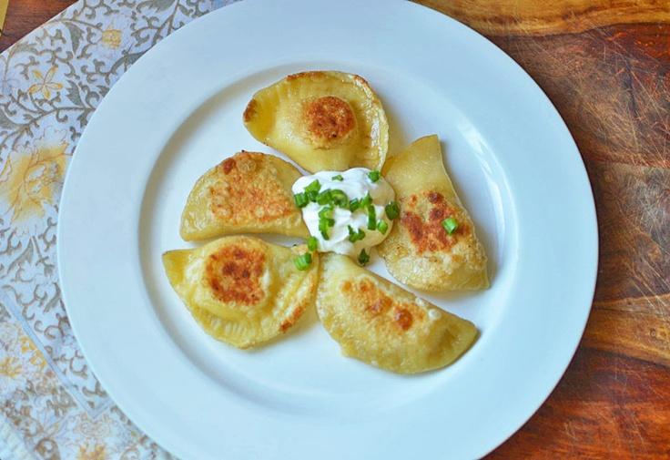 Easy Homemade Pierogies & sauerkraut filling recipe