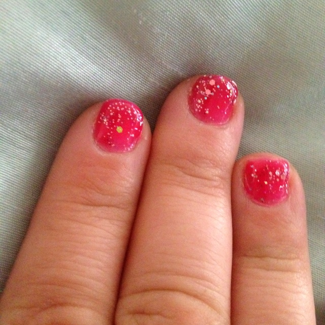 valentine's day nails diy