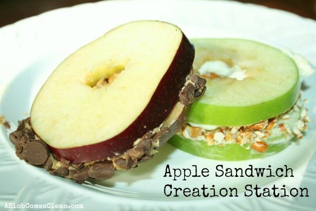 apple sandwich | Recipes | Pinterest