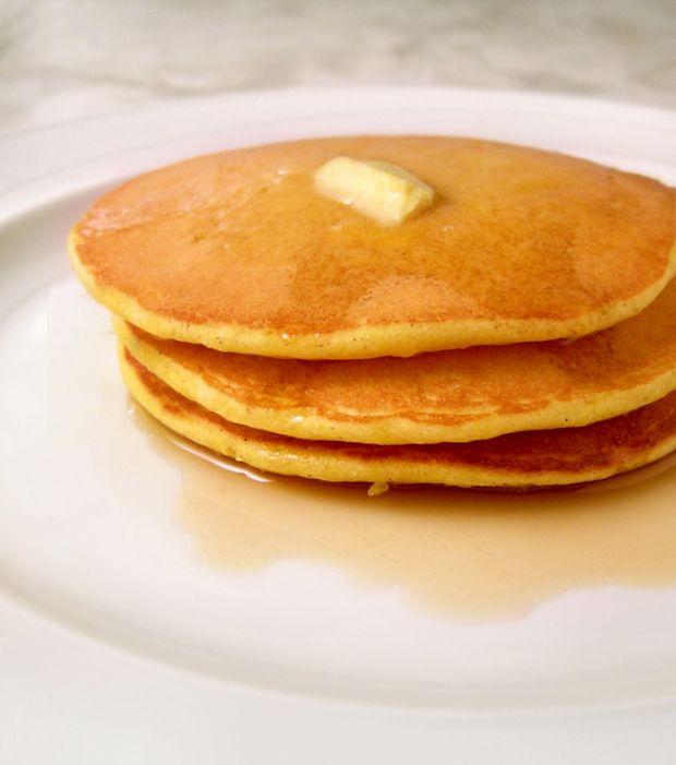fluffy pumpkin spelt pancakes | fmd | Pinterest