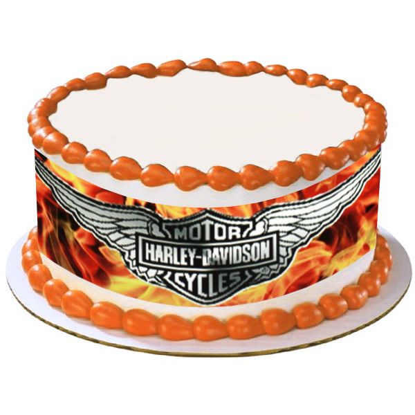 Edible Cake Images Harley Davidson : Harley Davidson Cake decorating ideas Pinterest