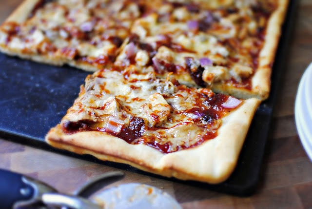 Barbecue Chicken Pizza--using homemade barbecue sauce found on the ...