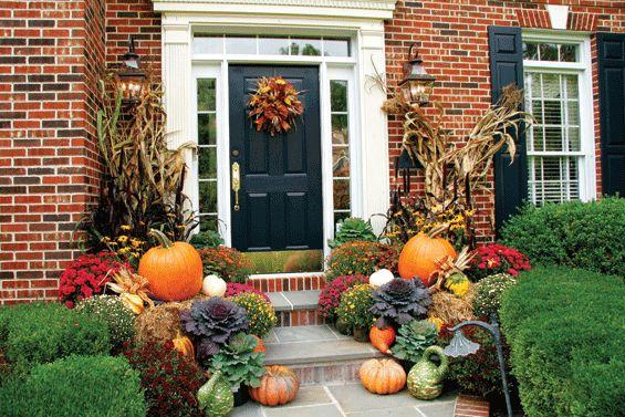 bountiful harvest outdoor fall decorating ideas pinterest. Black Bedroom Furniture Sets. Home Design Ideas