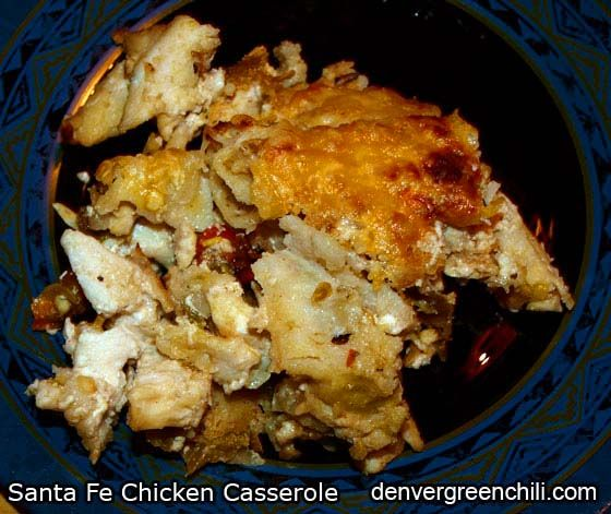 Santa Fe Chicken Casserole - this is very easy, but also an incredible ...