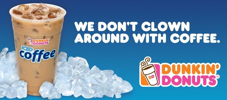 Dunkin  Donuts BillboardDunkin Donuts Billboard