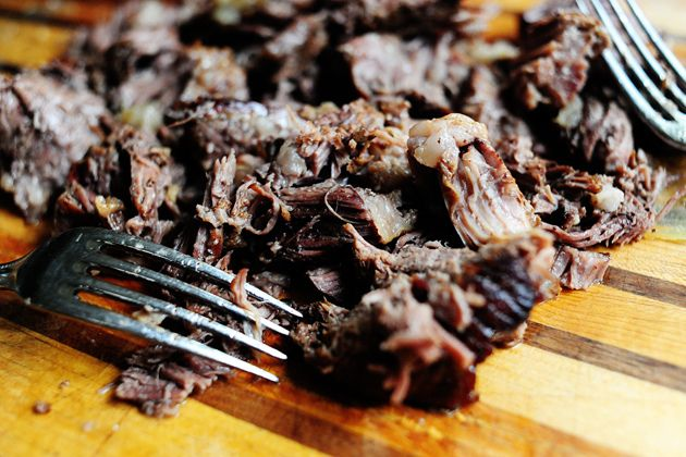 Beer-braised beef with onions. Serve this with 'the bread' ..best mea...