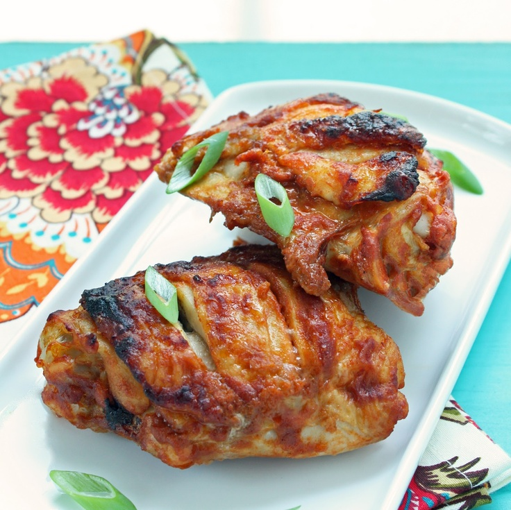 Super Easy Tandoori Style Chicken Thighs | Low Carb | Pinterest