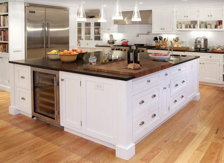 Butcher block granite dream kitchen pinterest - Marble chopping block ...