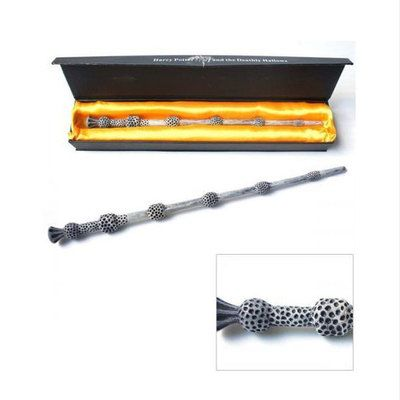 Wholesale deluxe harry potter hogwarts magic magical wand for Led wands wholesale