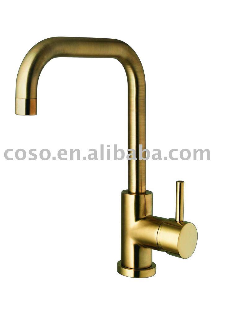 Gold Kitchen Faucet 11 D8372g Mi Casa Pinterest