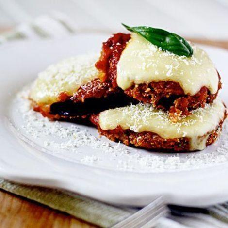 eggplant parmesan!!! A Skinny Twist on Classic Eggplant Parmesan