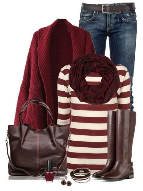 Fall Outfits With Brown Riding Boots Polyvore #BeModish #fashion #outfits