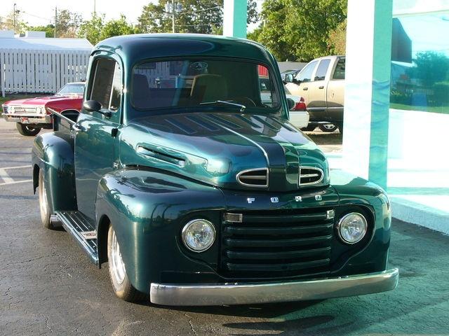 1950 ford f1 custom show truck trucks pinterest. Black Bedroom Furniture Sets. Home Design Ideas