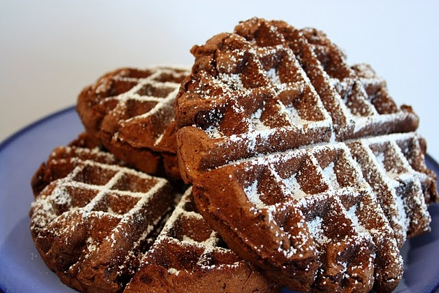 Chocolate Waffle Cookies...yummo! | Recipes | Pinterest