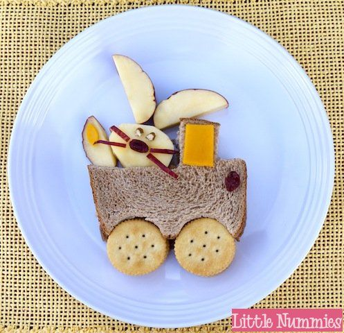 Easter Party food - Easter Bunny Sandwich