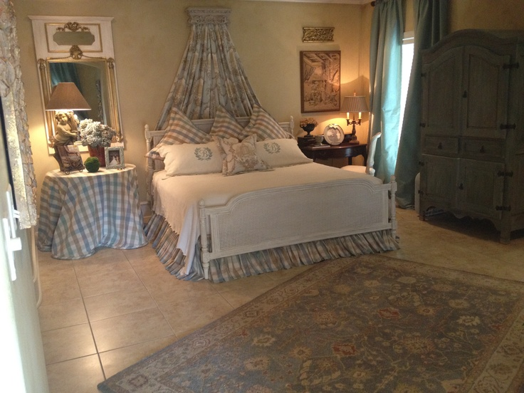 French Master Bedroom French Country Pinterest
