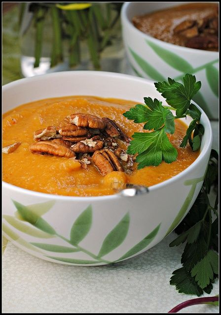 Sweet Potato, Apple, and Chipotle Soup | OMG I Love To Cook