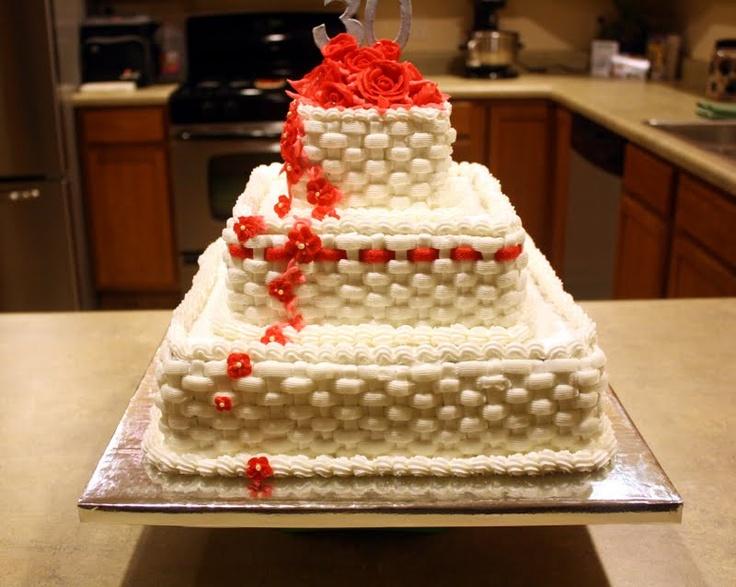 Anniversary Cake For 30th Anniversary