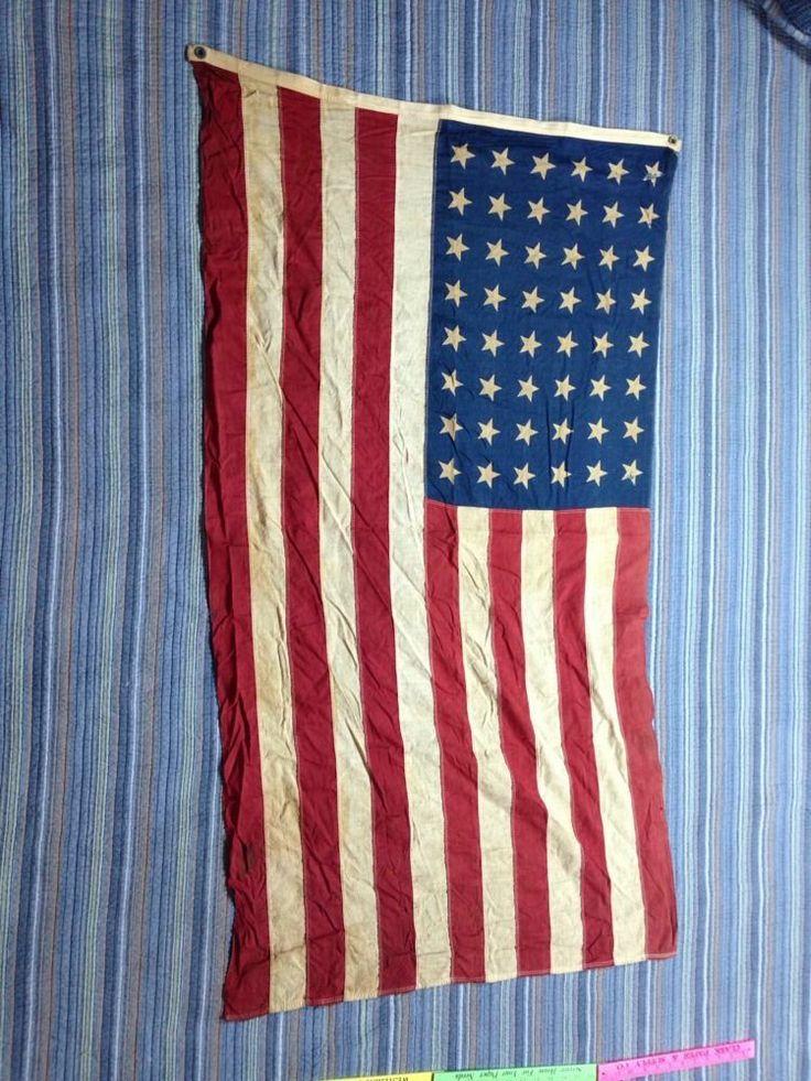 sewn flag