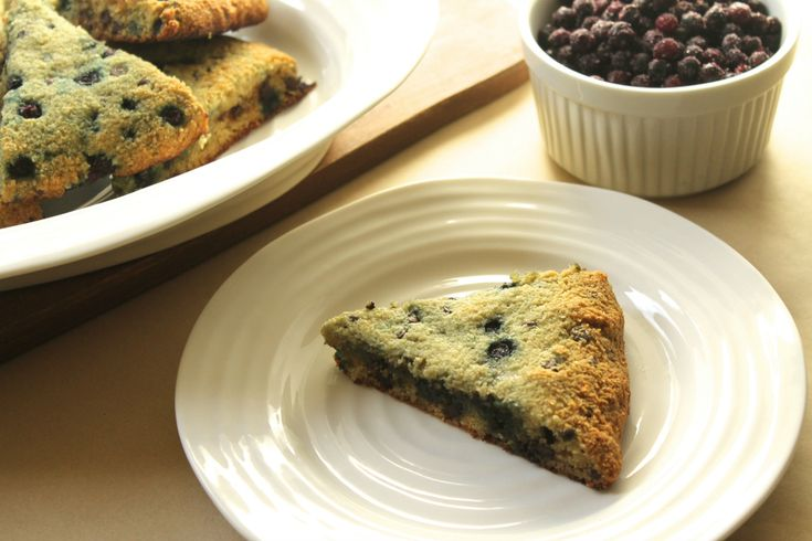Paleo Grain-Free Blueberry and Chocolate Chip Scones