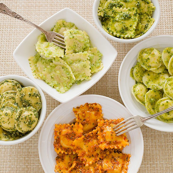 Dress up supermarket ravioli with our easy-yet-impressive Roasted Red ...