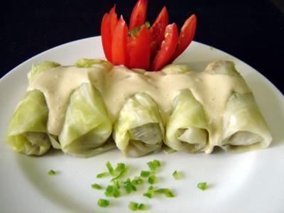 Vegetarian Cabbage Rolls Recipe | The meals I love | Pinterest