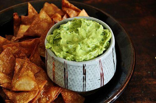 Classic Guacamole Chips by holajalapeno   Nom Nom Nom   Pinterest