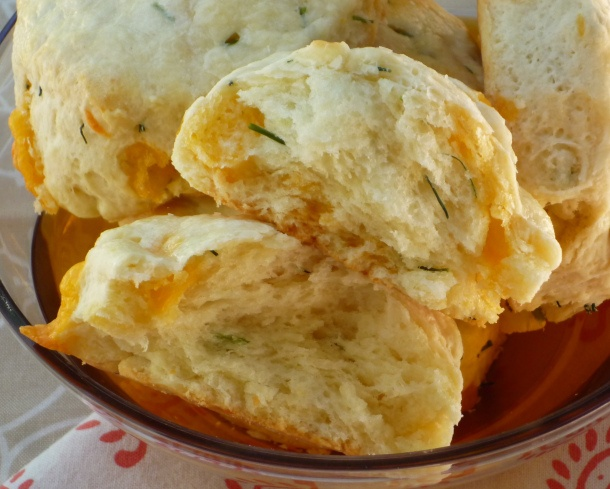 Cheddar, Chive, and Jalapeño Biscuits | Food | Pinterest