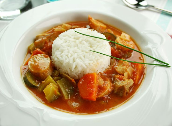 Chicken and Andouille Sausage Gumbo | Food I want to try | Pinterest