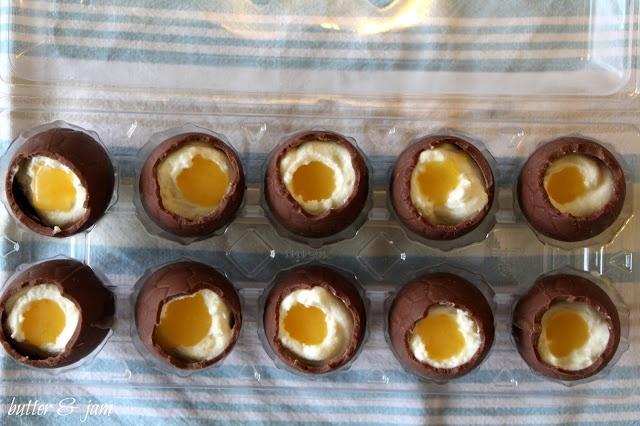 butter & jam: homemade Cadbury Creme easter eggs