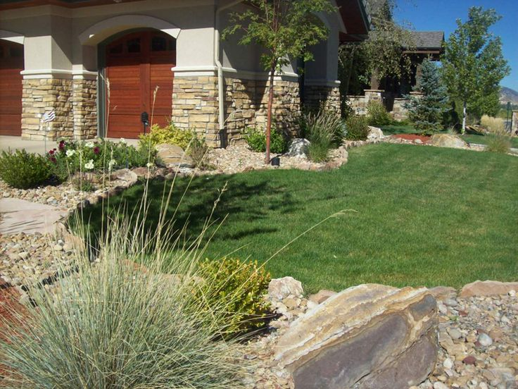 Landscaping Ideas For Front Yard Of Semi Detached : Landscaping ideas for front yard xeriscape
