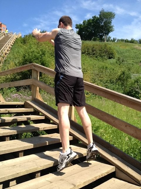 Exercises You Can Do On Stairs Motivation Pinterest