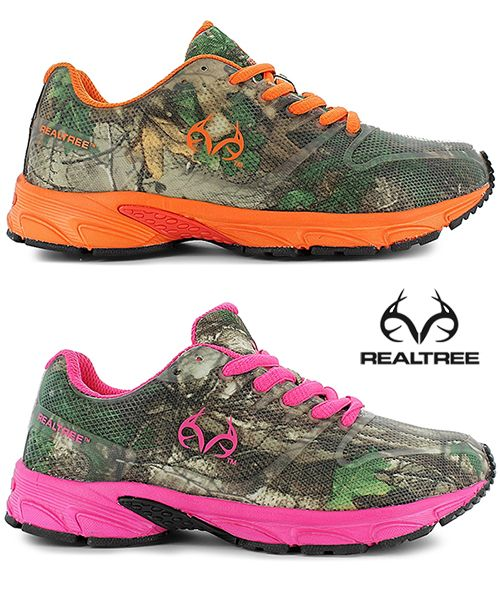 New #RealtreeXtra #Camo Athletic Shoes for Kids and Adults ! http