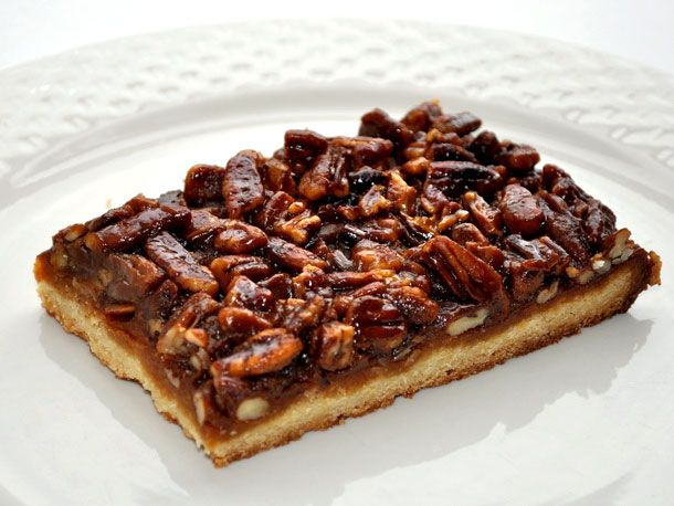 Pecan Pie Bars from Serious Eats: These bars have a caramel layer ...