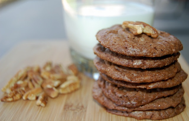Chocolate Pecan Wafers | Cookies | Pinterest