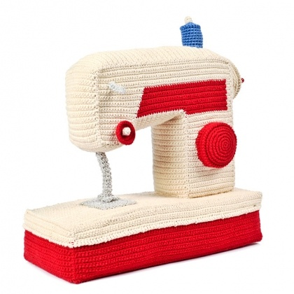 Crocheting Machine : Crochet Sewing Machine Pretty Things on the WWW Pinterest