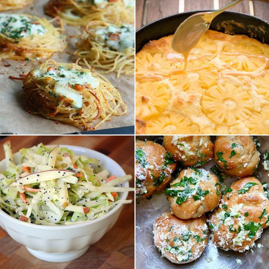 Spaghetti Nests & Whole Wheat Garlic Knots — Delicious links for 06 ...