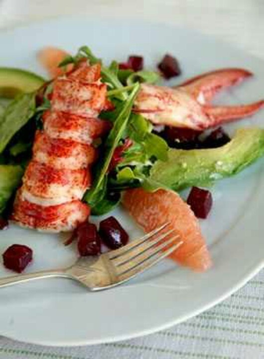 Lobster salad | food | Pinterest