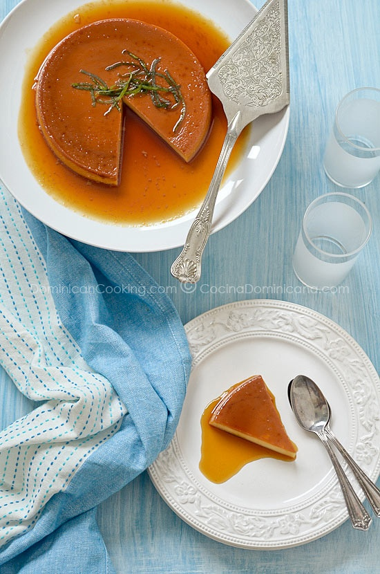 Flan | creamy and silky with a hint of vanilla and caramel