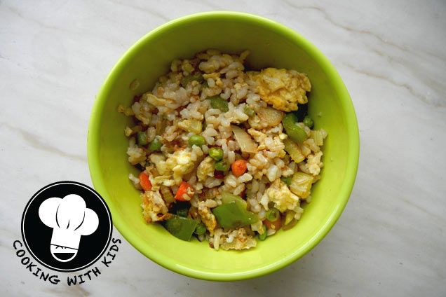 Kid-Friendly Recipes: Fried Rice | Let's get cookin' | Pinterest