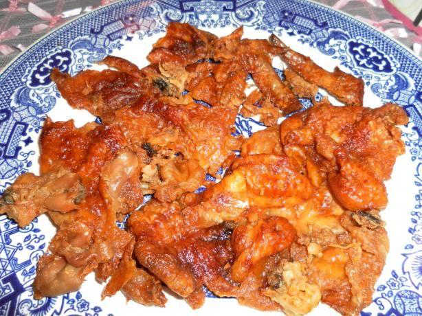 Kates Crispy Cracklings from Leftover Rotisserie Chicken Skin
