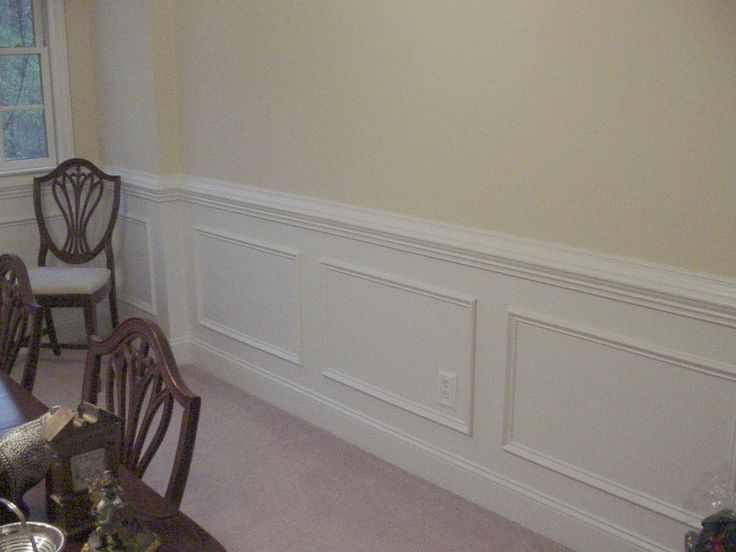 wainscoting dining room dining room pinterest