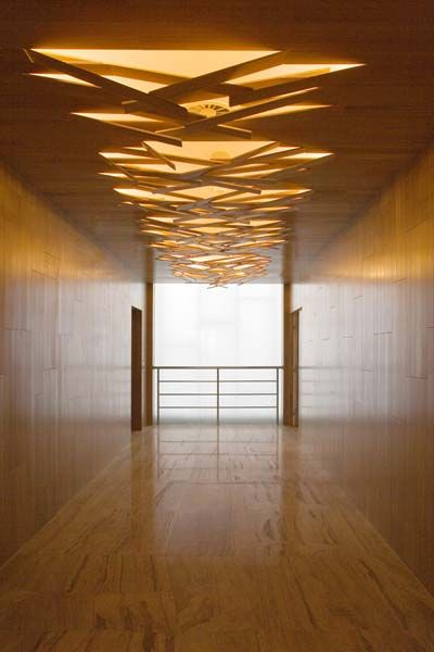 Wood interior glimpse ceiling the ceiling pinterest for Lighting element interior design