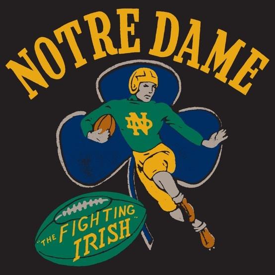 Vintage Notre Dame Football 120